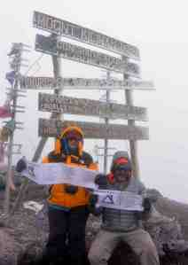 Kili Summit photo